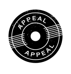 Appeal rubber stamp vector
