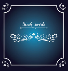 card invitation elements vector image