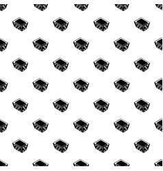 clothes in basket pattern seamless vector image