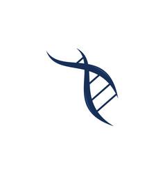 dna genetic logo design template vector image