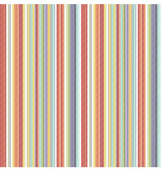 multicolor abstract striped seamless pattern vector image