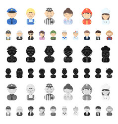 Park equipment cartoon icons in set collection vector