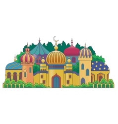 Arabic city vector