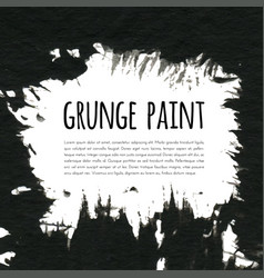 grunge paint background for vector image vector image