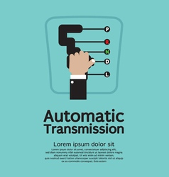 Automatic Transmission vector image vector image