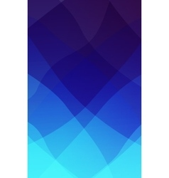 Abstract 2D mosaic triangle background vector image