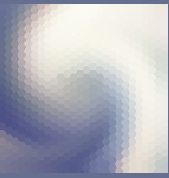 Abstract swirl polygonal background vector