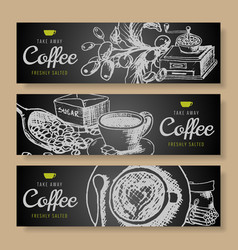 cartoon hand drawn doodles coffee corporate vector image