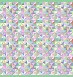 Colorful abstract striped shape tile mosaic vector