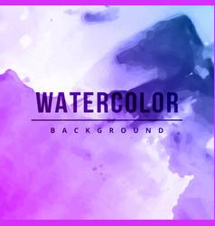 Creative watercolor splash background vector