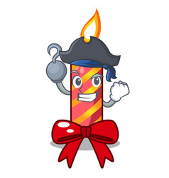 Pirate character christmas decoration with vector