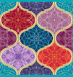 Seamless texture beautiful mega patchwork vector