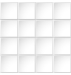 Tile white texture vector