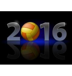 Voleytball 2016 z Voleytball 2014 01 vector image