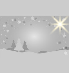 winter season design background vector image