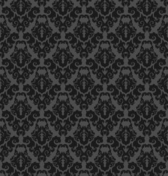decorative seamless floral vector image vector image