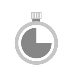 stopwatch timer second time concept vector image vector image