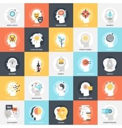 Human Psychology Icons vector image