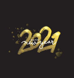 2021 new year cart 2021 new year vector image