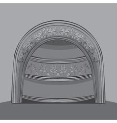 arch vector image