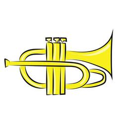 Clipart musical brass pocket vector