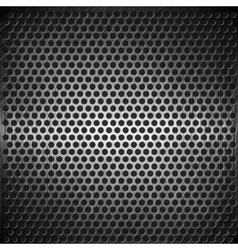 Dotted metal background design vector