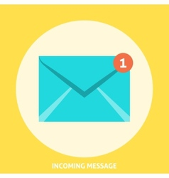 Envelope Icon Flat vector image