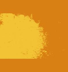 orange grunge background vector image