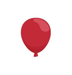 Red balloon icon vector