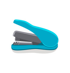 stapler of blue color item vector image