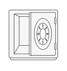 strongbox security device vector image