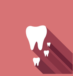 tooths icons vector image