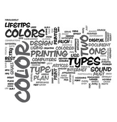 When is too much color too much text word cloud vector