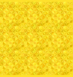 Yellow seamless striped mosaic tile pattern vector
