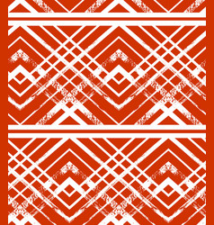 christmas ornament pattern vector image
