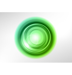 background green light center vector image