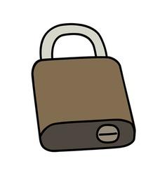 lock vector image