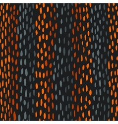 Abstract hand-drawn brush seamless pattern vector image