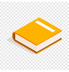 big book isometric icon vector image