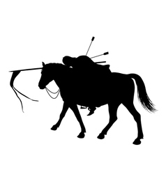 Dead horseman vector