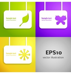 Entertainment applique background set for your vector image