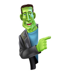 Frankensteins monster pointing vector