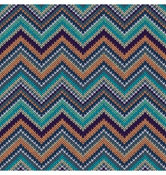 Knit seamless pattern f vector