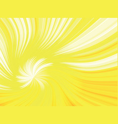 orange curved rays background vector image
