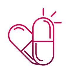 Prescription medical capsule prevent spread of vector