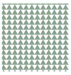 Triangle pattern 30 vector
