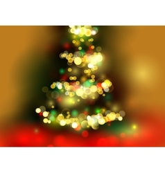 Chrismas tree vector image