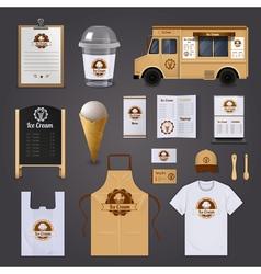 1607i123006Sm004c11ice cream corporate identity vector