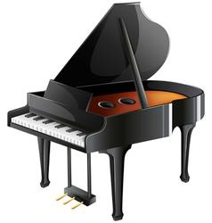 A musicians piano vector