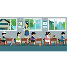 Children in class vector